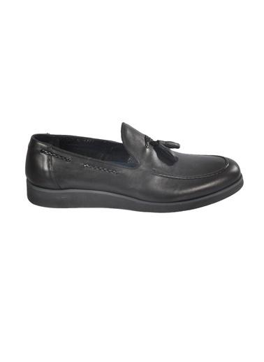 Luciano Bellini E1302 Siyah Erkek Günlük Ayakkabı Siyah